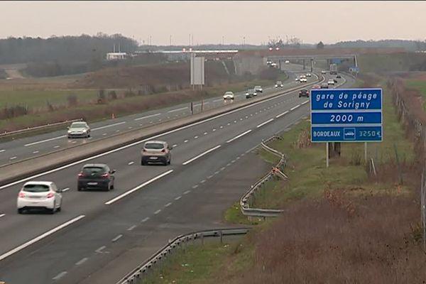 Le début des travaux d'élargissement de l'autoroute A10 est prévu en mars 2019