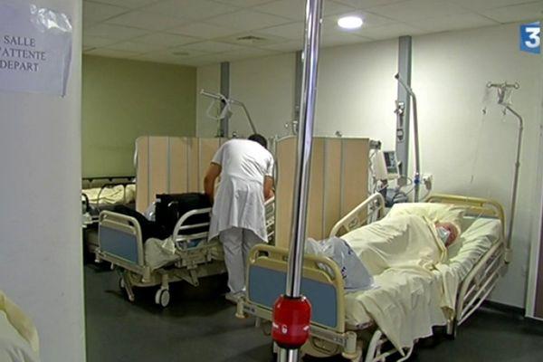 14 lits supplémentaires ont été mis en place pour cet afflux massif de patients
