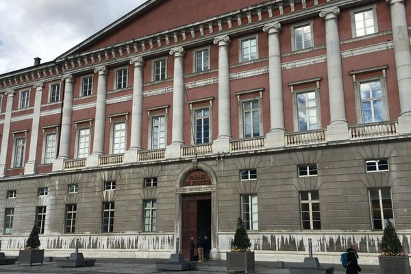 Le Palais de justice de Chambéry où est entendu Nordahl Lelandais.