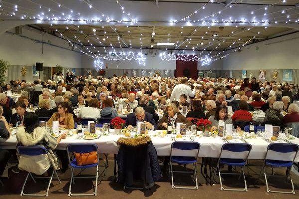 Le repas des aînés s'est déroulé sur deux jours à Limoges