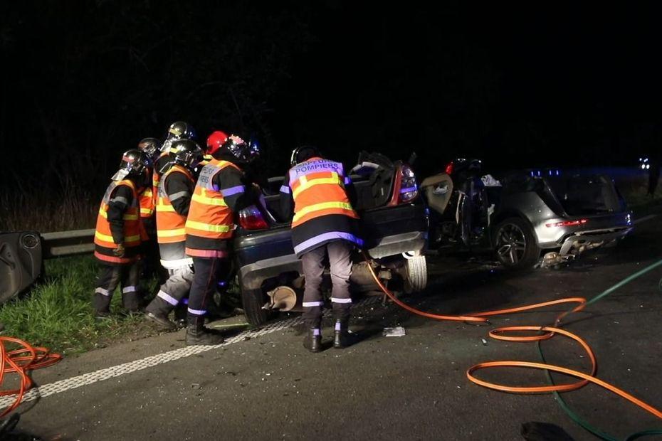 Senlis : quatre morts et trois blessés en urgence absolue dans un accident de la route