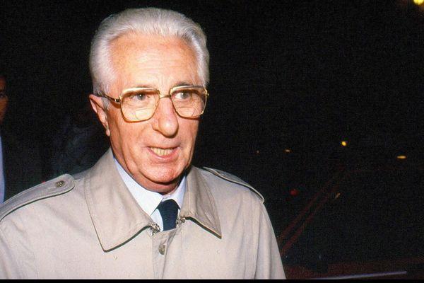 Le juge Maurice Simon en octobre 1989.