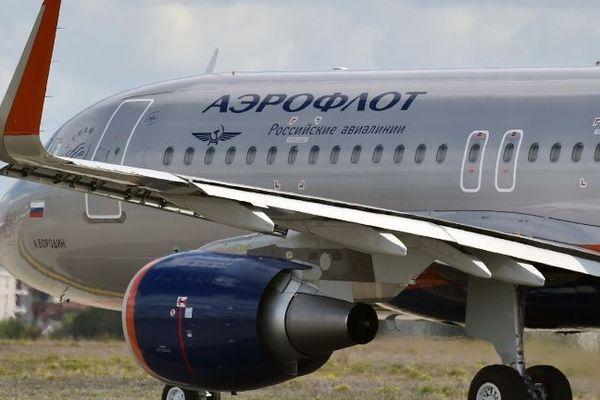 Un avion de la compagnie russe Aéroflot