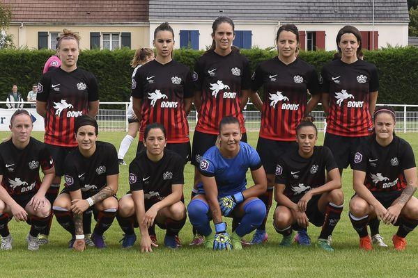 Les joueuses du FC Fleury 91 (en 2017).