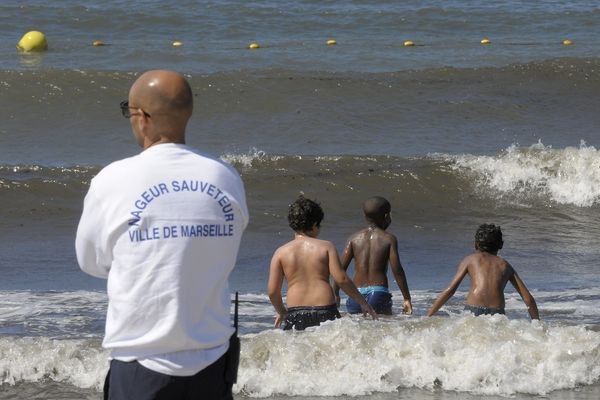 La plage de l'Huveaune et celle de Borely sont toujours interdites à la baignade (photo de 2013)