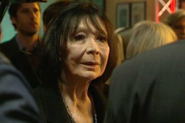 Juliette Gréco lors du Printemps de Bourges 2015