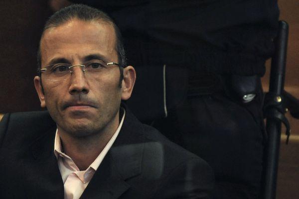 Jacques Mariani, devant la cour d'assises des Bouches-du-Rhône, le 25 février 2008, à Aix-en-Provence.