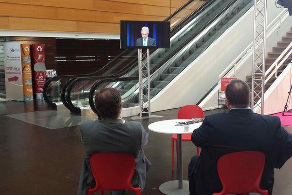 Claude Bartolone, le président de l'Assemblée Nationale, a ouvert les débats du 9ème congrès des régions de France