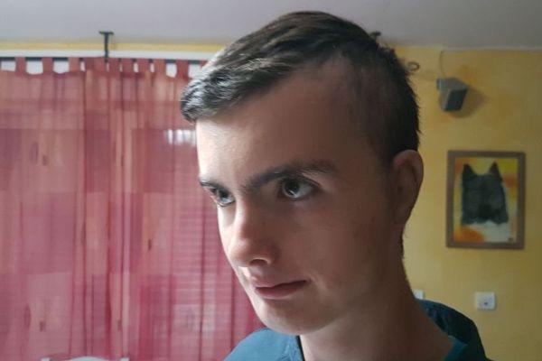 Quentin Le Goff, 14 ans, s'est fait opérer aux Etats-Unis le 10 octobre 2019.
