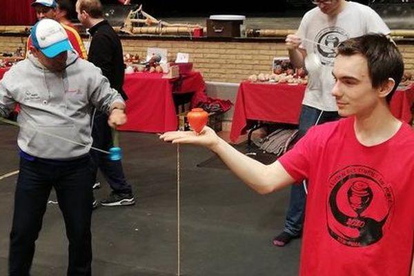 Quentin Godet, champion de France de yo-yo