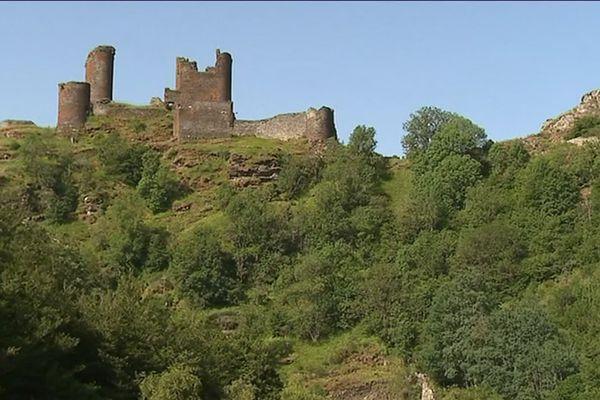 Le château du Tournel à Mont-Lozère-et-Goulet en Lozère