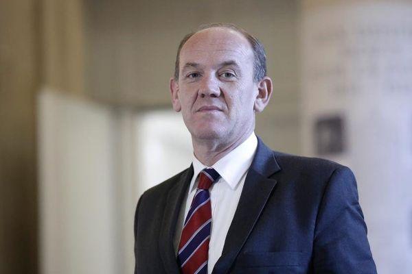 Le député du Pas-de-Calais Daniel Fasquelle, à l'Assemblée nationale, le 12 novembre 2014.