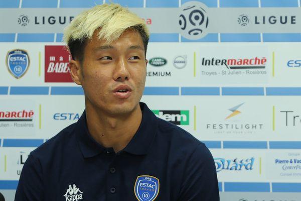 Huy-Jun Suk, en septembre 2017