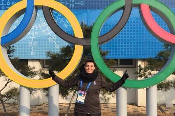Charlotte Girard est arbitre de hockey sur glace, elle était à Sotchi il y a 4 ans, elle récidive à Pyeongchang