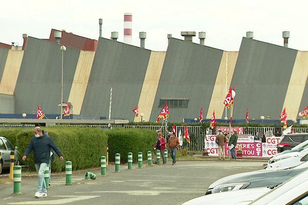 Le site des fonderies d'Ingrandes-sur-Vienne, le 20 avril 2021.