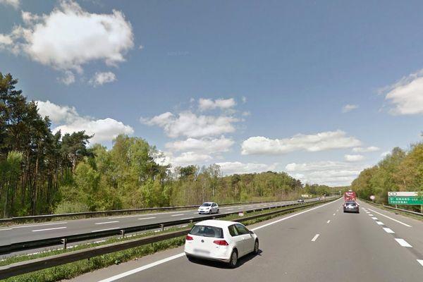 La femme et la poussette ont été retrouvées sur la bande d'arrêt d'urgence de l'A23 à Raismes.