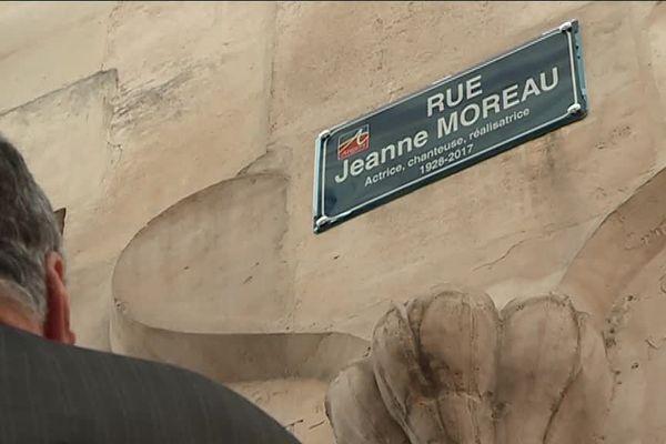 La première rue au nom de l'actrice décédée à l'âge de 89ans en 2017 a été inaugurée