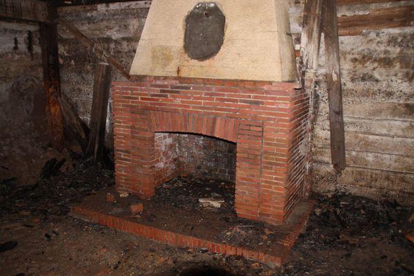 La cheminée du bunker.