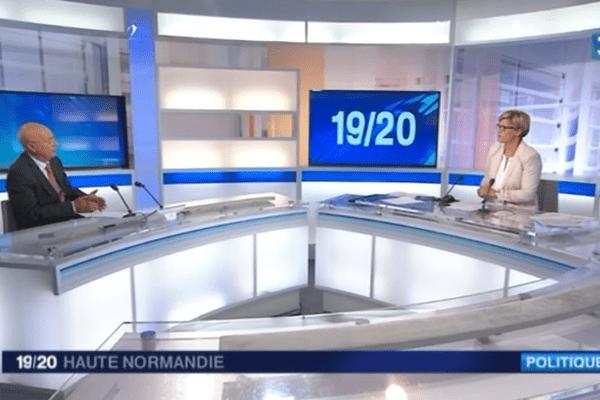 Le président du CESER de Haute-Normandie invité du 19/20, lundi 8 juin
