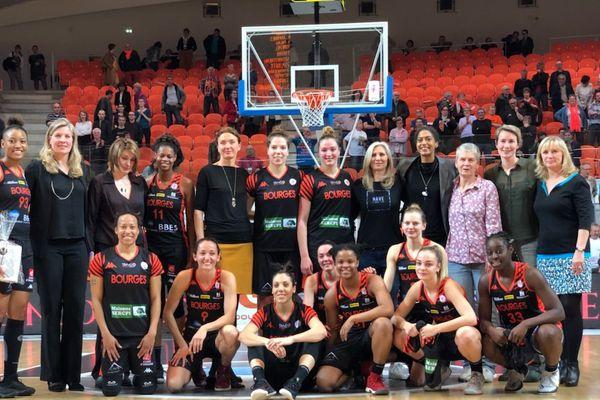 Les joueuses qui ont écrit l'histoire du Tango Bourges Basket, et celles qui l'écrivent toujours...