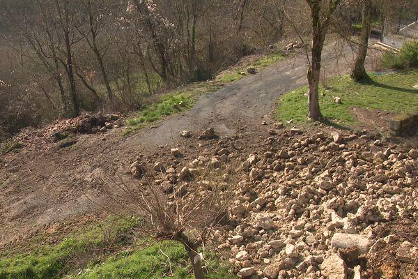 L'effondrement des remparts a eu lieu pendant la nuit de jeudi à vendredi 12 février.