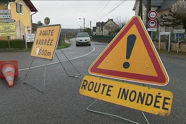 Ce jeudi 4 janvier 2018, une partie du département de la Corrèze a été placée en vigilance orange pour phénomène de crue.
