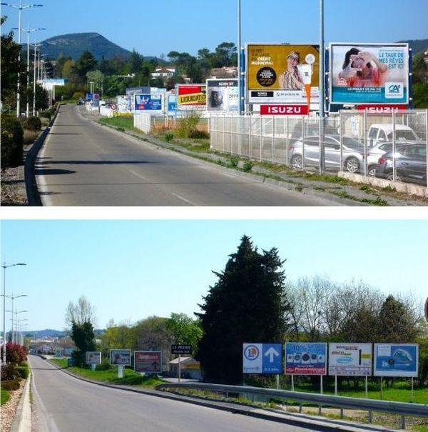 """Alès (Gard) - la ville a reçu le prix du """"fleurissement publicitaire"""" - archives"""
