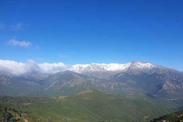 Ce 27 septembre, le froid était bien au rendez-vous dans toute la Corse.