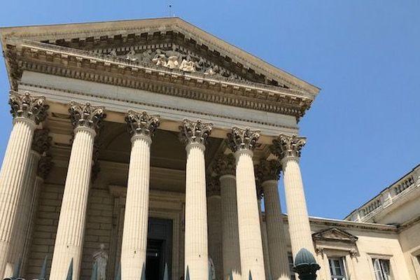 Palais de Justice de Montpellier - archives.
