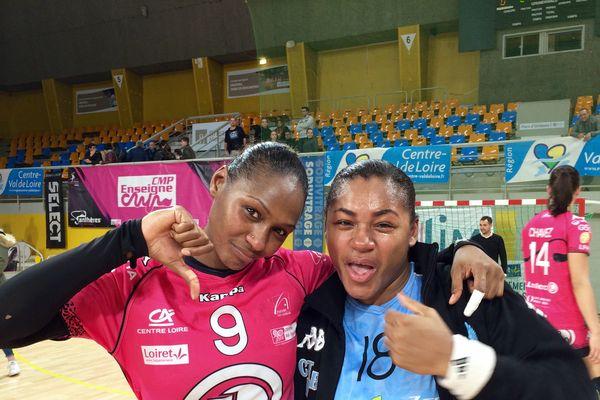 Handball : le duel entre les soeurs Baudouin a tourné à l'avantage de Stella