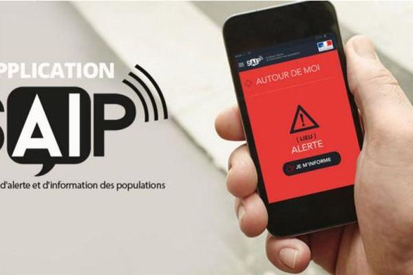 """Système d'Alerte et d'Information des Populations (SAIP), c'est le nom de l'application  """"alerte attentat"""" lancée par le ministère de l'Intérieur."""
