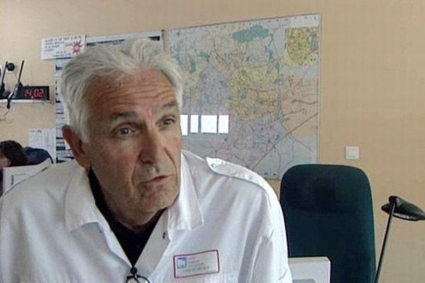 Le professeur Jean-Jacques Eledjam, nouveau président de la Croix-Rouge française - 2010