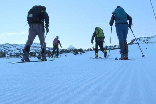 Le ski de fond reste autorisé, la Pierre-Saint-Martin dans le Béarn mise sur cette activité à partir du 19/12/20.