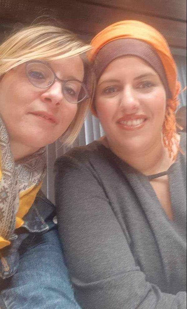 """Alison a crée l'association """"Les roses de l'espoir"""", avec Karima Damnati, ensemble elle luttent au quotidien."""