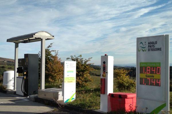 Dans le Puy-de-Dôme, la station-service d'Anzat-le-Luguet est en service 24 heures sur 24.