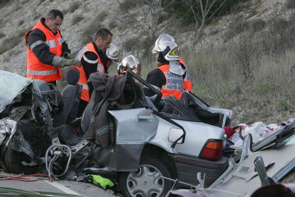 Illustration - L'année 2018 a été particulièrement meurtrière sur les routes des Hautes-Alpes.