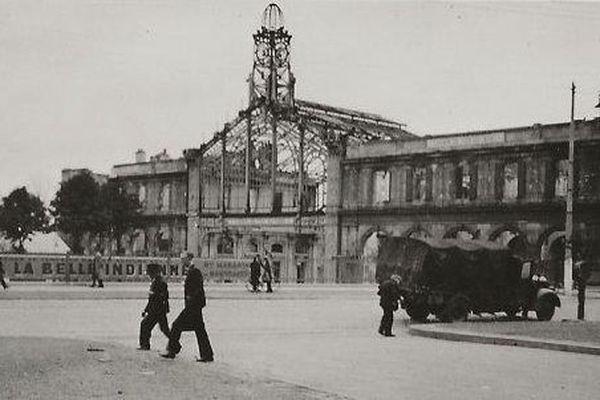 Carcasse de la gare centrale d'Amiens