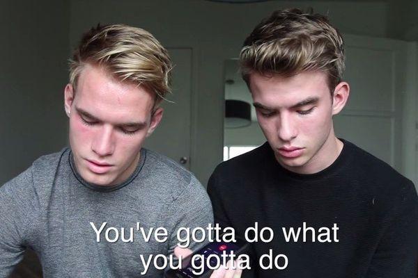 Aaron et Austin, les jumeaux sortent du placard et font pleurer l'Amérique
