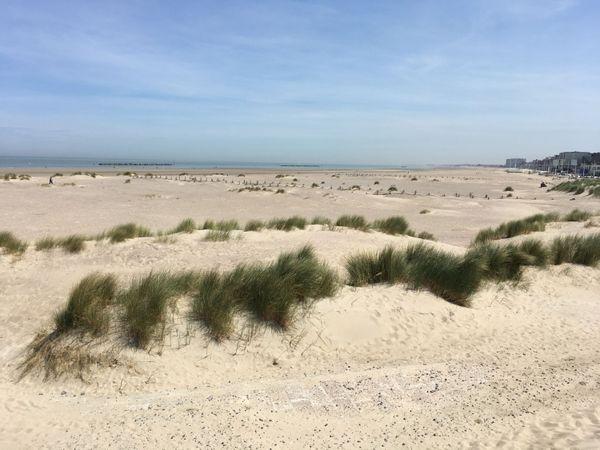 La plage de Malo-les-Bains à Dunkerque.