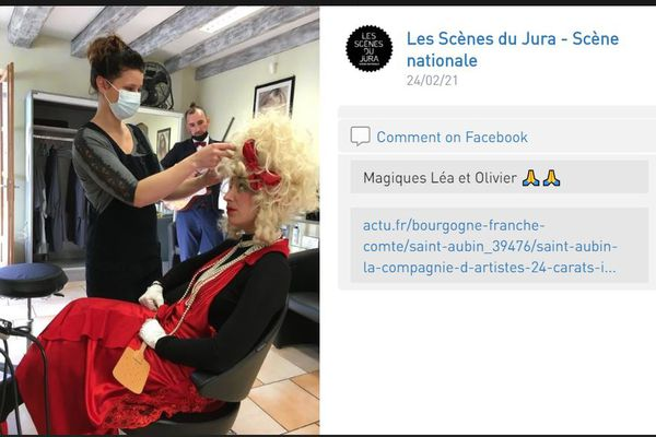 Les Scènes du Jura ont suivi de près les artistes tout au long de la journée.