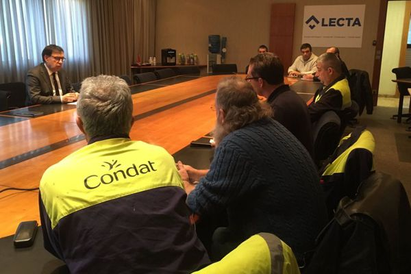 Les syndicats craignent que Lecta ne souhaite que la fermeture du site périgourdin. 500 emplois sont en jeu