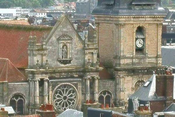 L'église saint-Rémy à Dieppe