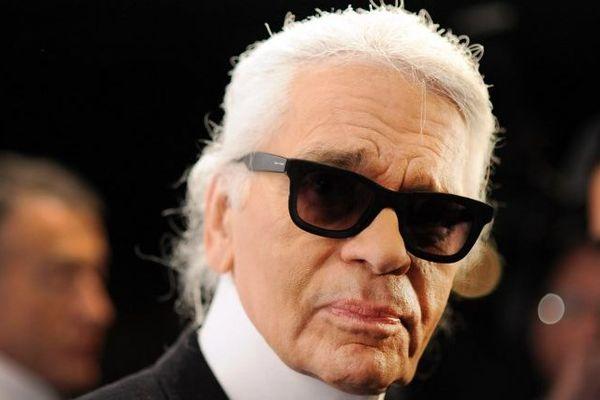 Le couturier Karl Lagerfeld, en novembre 2012