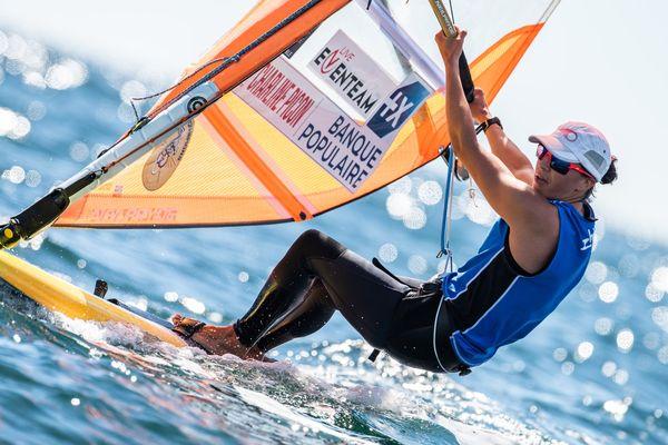 Charline Picon décroche la médaille d'or aux championnats d'Europe 2021 de RSX à Vilamoura (Portugal).