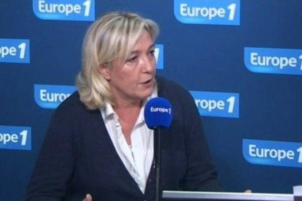 Marine Le Pen sera en déplacement dans l'Yonne le mercredi 27 novembre.