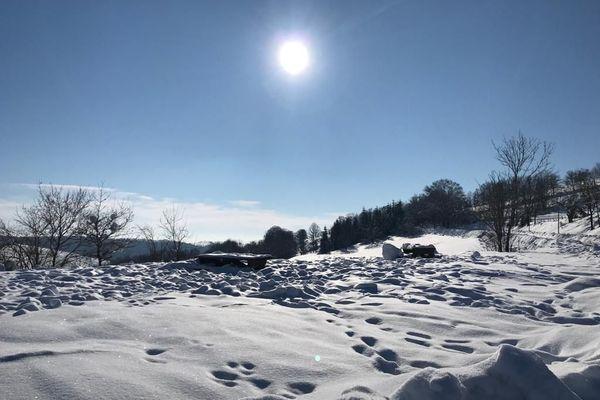 Le dispositif Grand Froid de niveau 2 a été activé, jeudi 7 janvier, dans le Cantal.