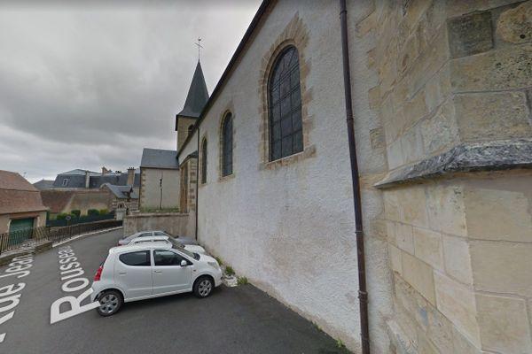 L'église Saint-Aré de Decize