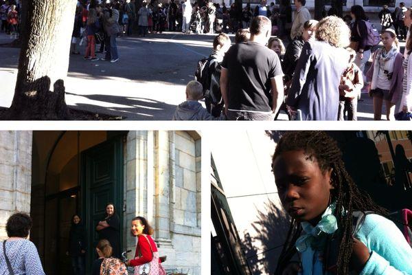 La rentrée scolaire à Besançon