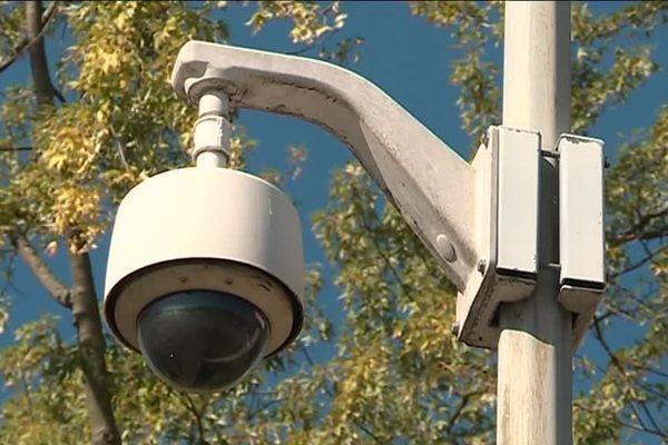 L'une des deux cents caméras de vidéosurveillance existantes dans les rues de Strasbourg