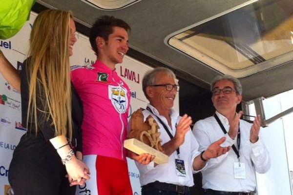 Anthony Turgis (Cofidis) vainqueur de la 2ème étape des Boucles de la Mayenne 2015